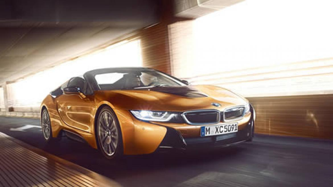 ALL-NEW BMW i8 ROADSTER.