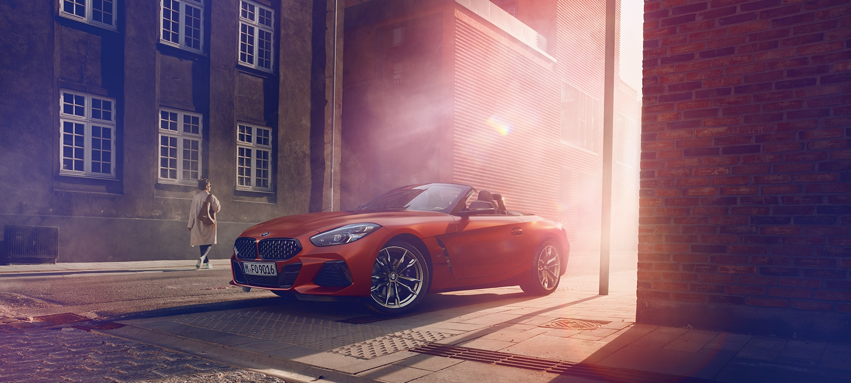 非凡さを、解き放て。THE ALL-NEW BMW Z4 First Edition.